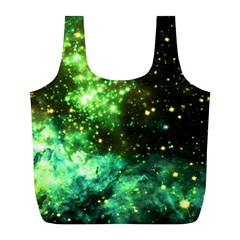 Space Colors Full Print Recycle Bags (l)  by ValentinaDesign