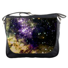 Space Colors Messenger Bags by ValentinaDesign