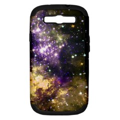 Space Colors Samsung Galaxy S Iii Hardshell Case (pc+silicone) by ValentinaDesign