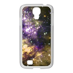 Space Colors Samsung Galaxy S4 I9500/ I9505 Case (white) by ValentinaDesign