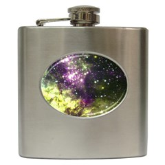 Space Colors Hip Flask (6 Oz) by ValentinaDesign