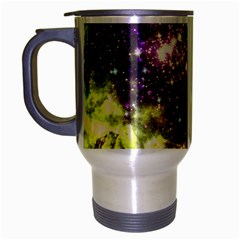 Space Colors Travel Mug (silver Gray) by ValentinaDesign