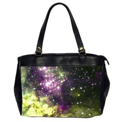 Space Colors Office Handbags (2 Sides)  by ValentinaDesign