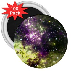 Space Colors 3  Magnets (100 Pack) by ValentinaDesign