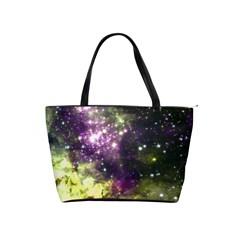 Space Colors Shoulder Handbags by ValentinaDesign