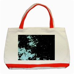 Space Colors Classic Tote Bag (red) by ValentinaDesign