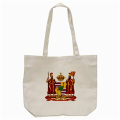 Kingdom Of Hawaii Coat Of Arms, 1795 1850 Tote Bag (cream) by abbeyz71
