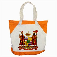 Kingdom Of Hawaii Coat Of Arms, 1795 1850 Accent Tote Bag by abbeyz71