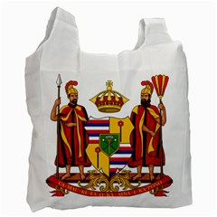 Kingdom Of Hawaii Coat Of Arms, 1795 1850 Recycle Bag (two Side)  by abbeyz71