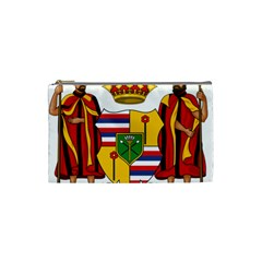 Kingdom Of Hawaii Coat Of Arms, 1795 1850 Cosmetic Bag (small)  by abbeyz71
