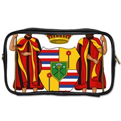 Kingdom Of Hawaii Coat Of Arms, 1795 1850 Toiletries Bags 2 Side by abbeyz71