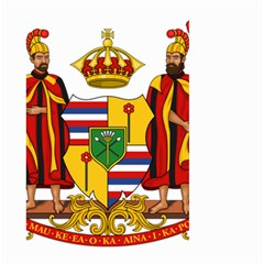 Kingdom Of Hawaii Coat Of Arms, 1795 1850 Large Garden Flag (two Sides) by abbeyz71