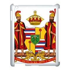 Kingdom Of Hawaii Coat Of Arms, 1795 1850 Apple Ipad 3/4 Case (white) by abbeyz71