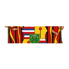 Kingdom Of Hawaii Coat Of Arms, 1795 1850 Satin Scarf (oblong) by abbeyz71