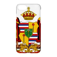 Kingdom Of Hawaii Coat Of Arms, 1795 1850 Apple Iphone 7 Hardshell Case by abbeyz71