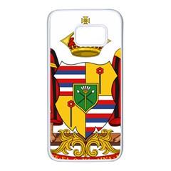 Kingdom Of Hawaii Coat Of Arms, 1795 1850 Samsung Galaxy S7 White Seamless Case by abbeyz71