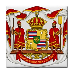 Kingdom Of Hawaii Coat Of Arms, 1850 1893 Tile Coasters by abbeyz71