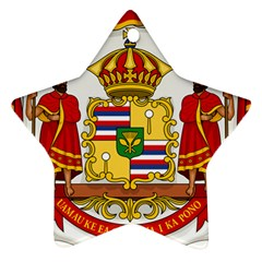 Kingdom Of Hawaii Coat Of Arms, 1850 1893 Ornament (star) by abbeyz71