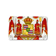 Kingdom Of Hawaii Coat Of Arms, 1850 1893 Magnet (name Card) by abbeyz71