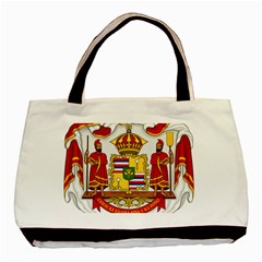 Kingdom Of Hawaii Coat Of Arms, 1850 1893 Basic Tote Bag by abbeyz71