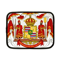 Kingdom Of Hawaii Coat Of Arms, 1850 1893 Netbook Case (small)  by abbeyz71