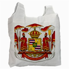 Kingdom Of Hawaii Coat Of Arms, 1850 1893 Recycle Bag (two Side)  by abbeyz71
