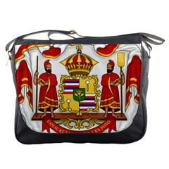 Kingdom Of Hawaii Coat Of Arms, 1850 1893 Messenger Bags by abbeyz71
