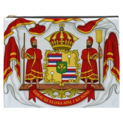 Kingdom Of Hawaii Coat Of Arms, 1850 1893 Cosmetic Bag (xxxl)  by abbeyz71