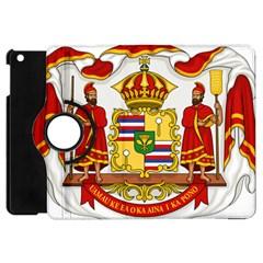 Kingdom Of Hawaii Coat Of Arms, 1850 1893 Apple Ipad Mini Flip 360 Case by abbeyz71