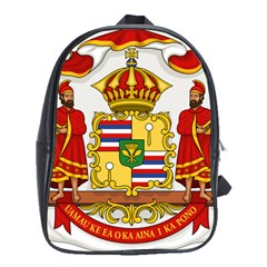 Kingdom Of Hawaii Coat Of Arms, 1850 1893 School Bag (xl) by abbeyz71