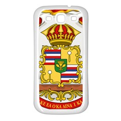 Kingdom Of Hawaii Coat Of Arms, 1850 1893 Samsung Galaxy S3 Back Case (white) by abbeyz71