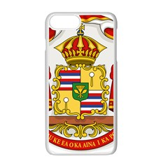 Kingdom Of Hawaii Coat Of Arms, 1850 1893 Apple Iphone 7 Plus White Seamless Case by abbeyz71