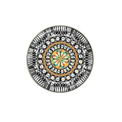 High Contrast Mandala Hat Clip Ball Marker (4 Pack) by linceazul