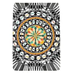High Contrast Mandala Flap Covers (s)  by linceazul