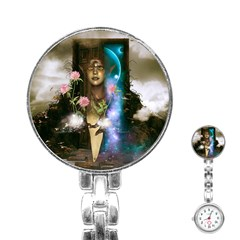 The Wonderful Women Of Earth Stainless Steel Nurses Watch by FantasyWorld7