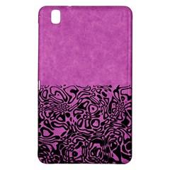 Modern Paperprint Pink Samsung Galaxy Tab Pro 8 4 Hardshell Case by MoreColorsinLife
