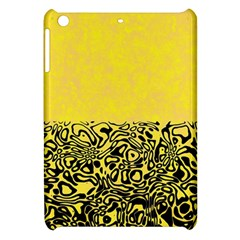 Modern Paperprint Yellow Apple Ipad Mini Hardshell Case by MoreColorsinLife