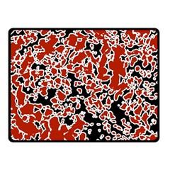Splatter Abstract Texture Fleece Blanket (small) by dflcprints