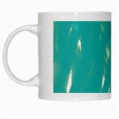Background Green Abstract White Mugs by Nexatart
