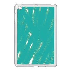 Background Green Abstract Apple Ipad Mini Case (white) by Nexatart