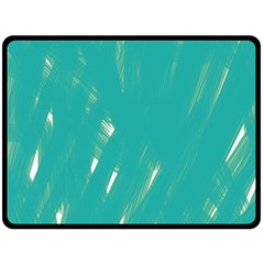 Background Green Abstract Double Sided Fleece Blanket (large)  by Nexatart