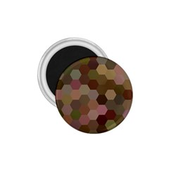 Brown Background Layout Polygon 1 75  Magnets by Nexatart