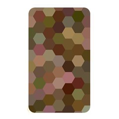 Brown Background Layout Polygon Memory Card Reader by Nexatart
