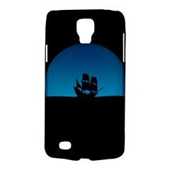 Ship Night Sailing Water Sea Sky Galaxy S4 Active by Nexatart