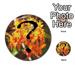 Skull N Roses By Paul Dale   Multi Purpose Cards (round)   J4bch1etrn43   Www Artscow Com Back 6