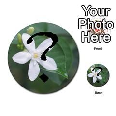 Skull N Roses By Paul Dale   Multi Purpose Cards (round)   J4bch1etrn43   Www Artscow Com Back 29