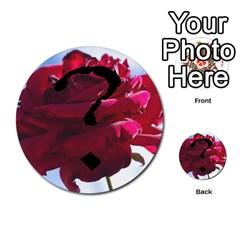 Skull N Roses By Paul Dale   Multi Purpose Cards (round)   J4bch1etrn43   Www Artscow Com Back 46