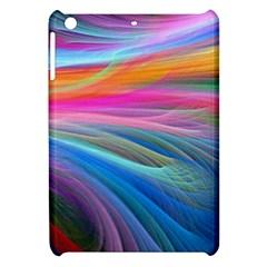 Rainbow Feather Apple Ipad Mini Hardshell Case by AllOverIt