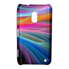 Rainbow Feather Nokia Lumia 620 by AllOverIt