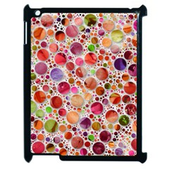 Lovely Shapes 2a Apple Ipad 2 Case (black) by MoreColorsinLife